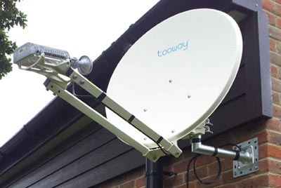 Broadband via Satellite